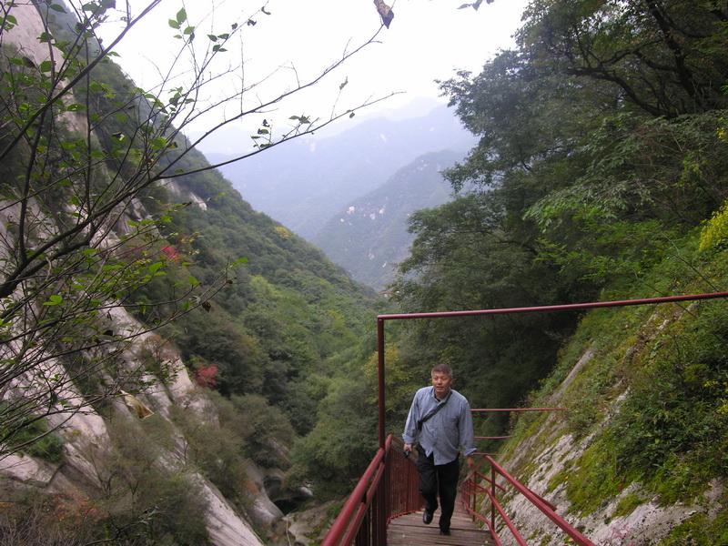 游西安连珠潭风景区图片